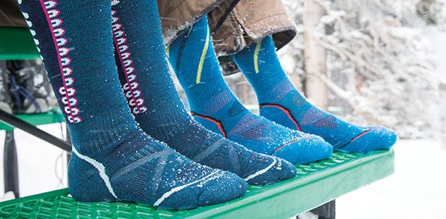 The Best Ski Socks for Warm and Dry Feet 2016