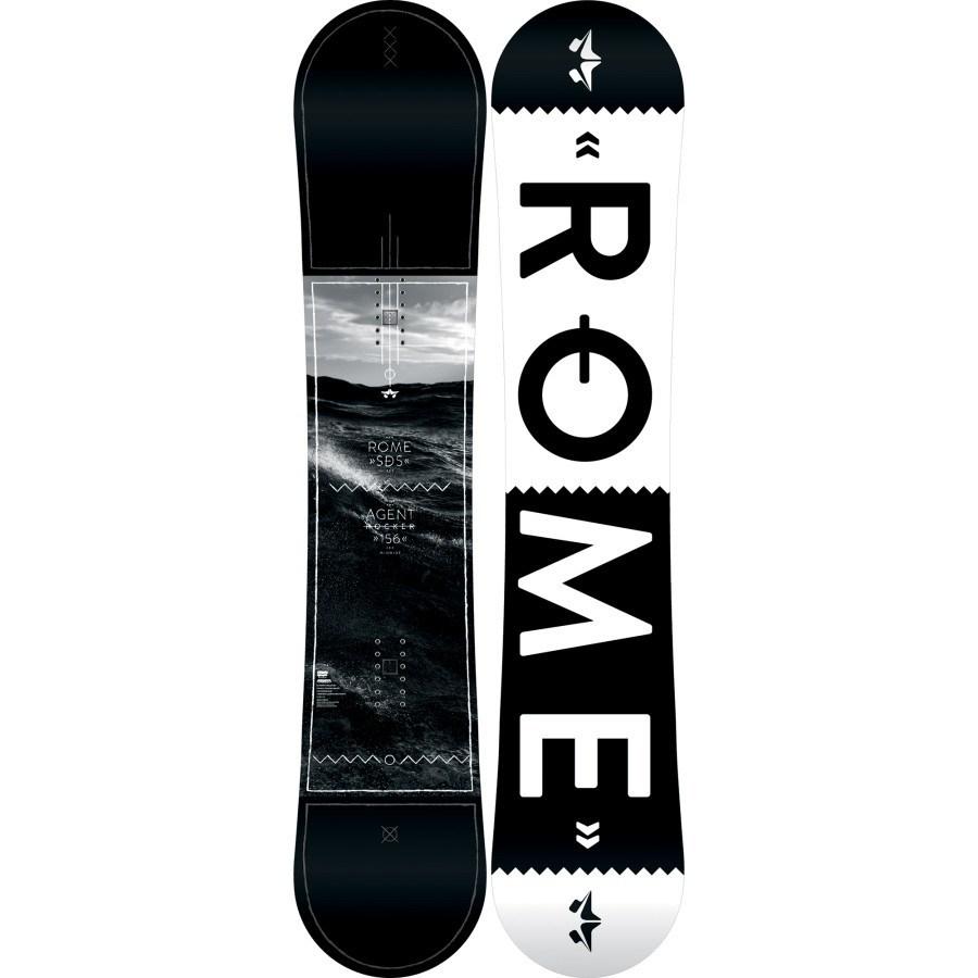 Rome Agent Rocker Men's Snowboard