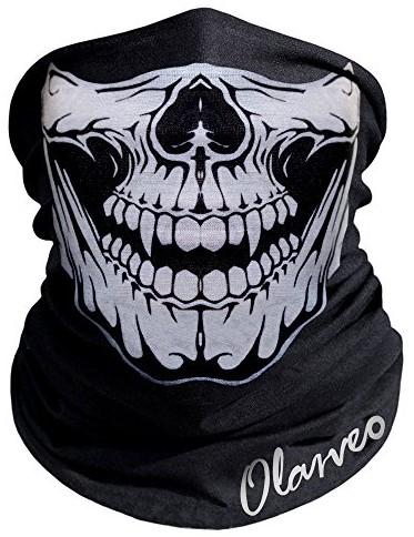 Skull Balaclava Half Mask