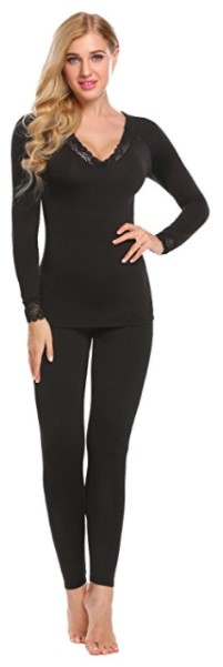 Ekouaer Smooth Knit Thermal Underwear