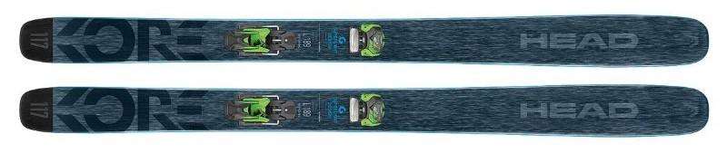 Head Kore 117 powder skis