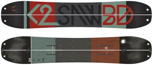 K2 Ultra Split Splitboard Mens Sz 164cm
